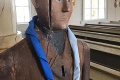 Symbolinmetsästyksen viimeinen rasti oli tietovisa Limingan kirkossa