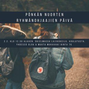 NRJ2 - Pönkän alueen Nuorten ryhmänjohtajien päivä